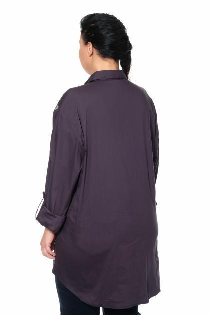 Артикул 300191 - блуза большого размера - вид сзади