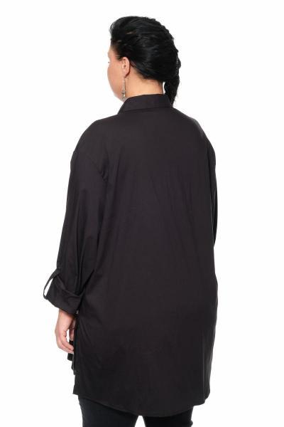 Артикул 300188 - блуза большого размера - вид сзади