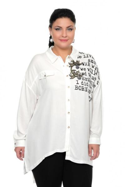 Артикул 335529 - блуза большого размера