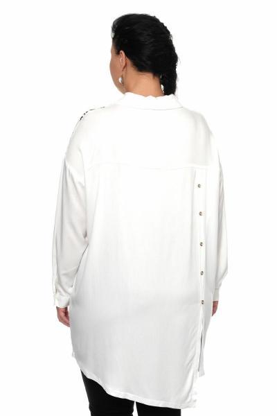 Артикул 335529 - блуза большого размера - вид сзади