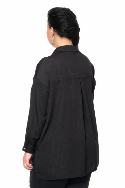 Артикул 335537 - блуза большого размера - вид сзади