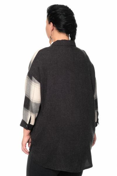 Артикул 335506 - блуза большого размера - вид сзади