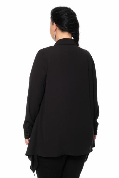 Артикул 335550 - блуза большого размера - вид сзади