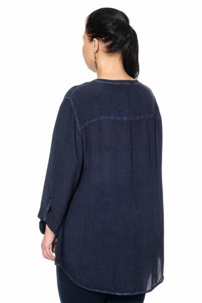 Артикул 300012-1 - блуза большого размера - вид сзади