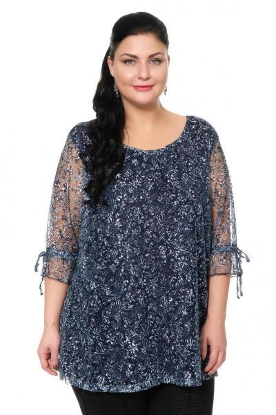 Артикул 300014 - блуза большого размера