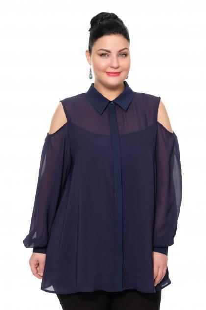 Артикул 17251 - блуза большого размера
