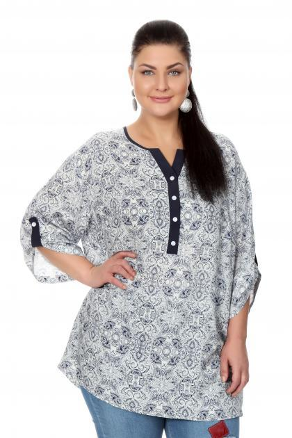 Артикул 17213 - блузка  большого размера