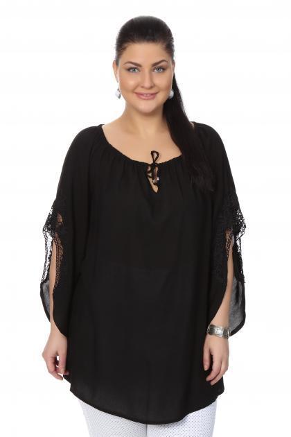 Артикул 16238 - блузка  большого размера