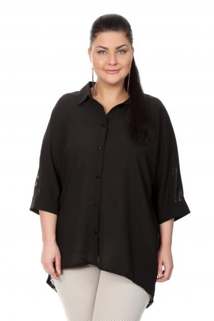 Артикул 17212 - блузка  большого размера
