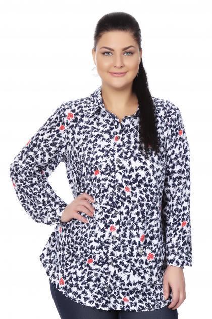 Артикул 16275 - блузка большого размера