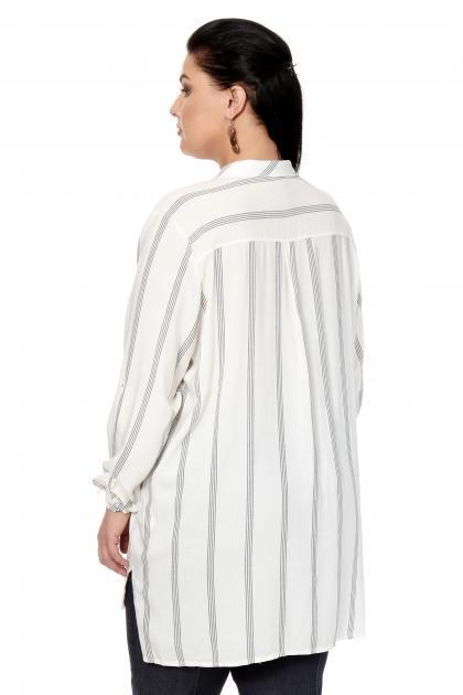 Артикул 306507 - блузка большого размера - вид сзади