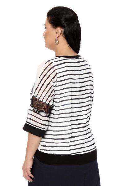 Артикул 334527 - блузка большого размера - вид сзади