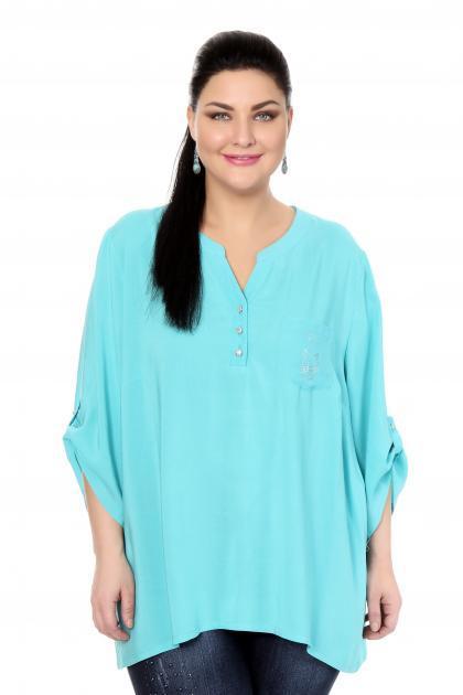 Артикул 17217 - блузка большого размера