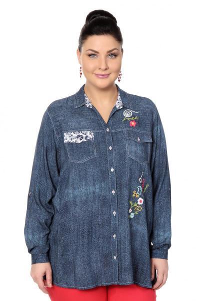 Артикул 306402 - блузка большого размера