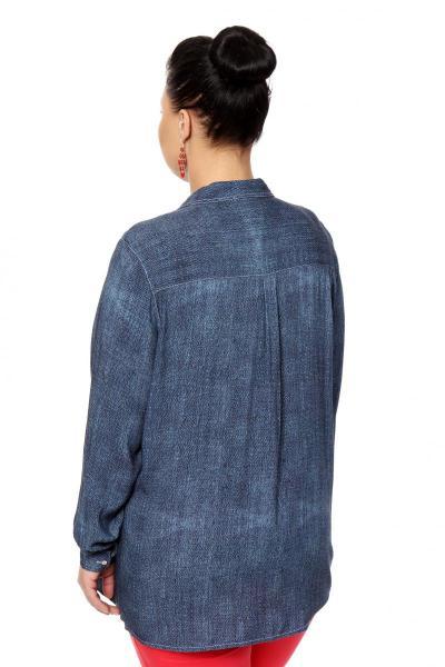Артикул 306402 - блузка большого размера - вид сзади