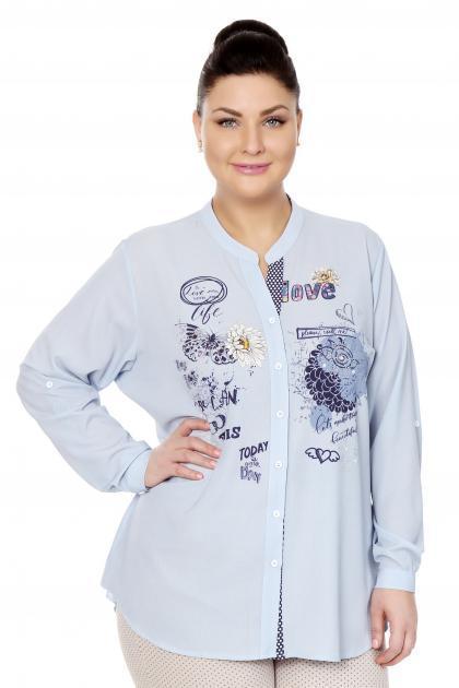Артикул 306510 - блузка большого размера