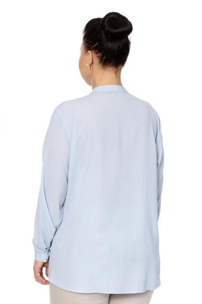 Артикул 306510 - блузка большого размера - вид сзади