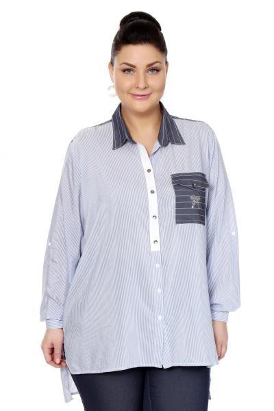 Артикул 306435 - блузка большого размера