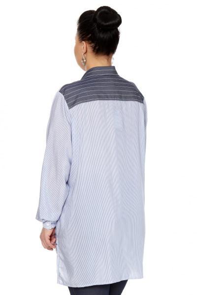 Артикул 306435 - блузка большого размера - вид сзади