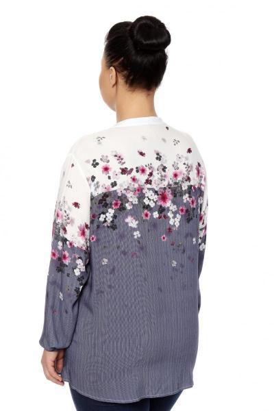 Артикул 306420 - блузка большого размера - вид сзади