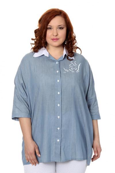 Артикул 301749 - блузка большого размера