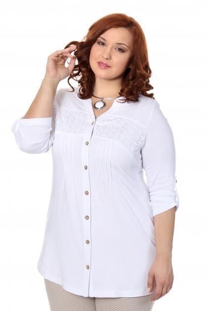 Артикул 17219 - блузка большого размера