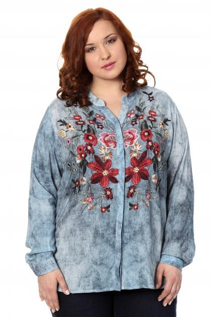 Артикул 306477 - блузка большого размера