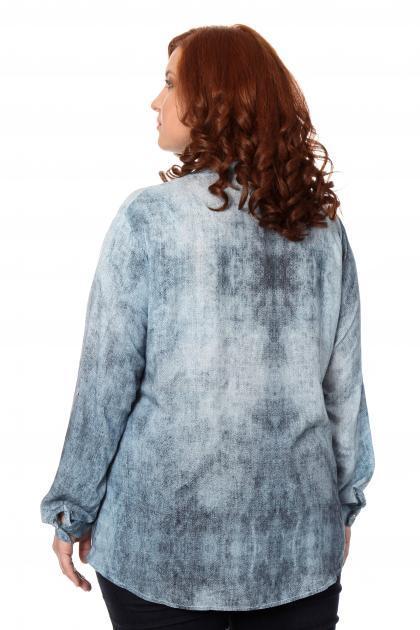 Артикул 306477 - блузка большого размера - вид сзади