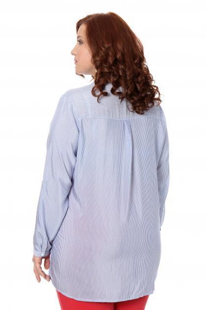 Артикул 306521 - блузка большого размера - вид сзади