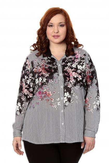 Артикул 306418 - блузка большого размера