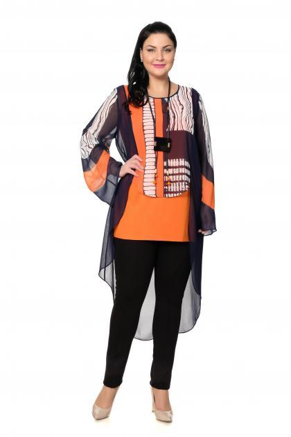 Артикул 301597 - блузка большого размера