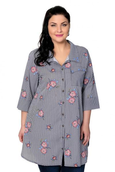 Артикул 301643 - блузка большого размера