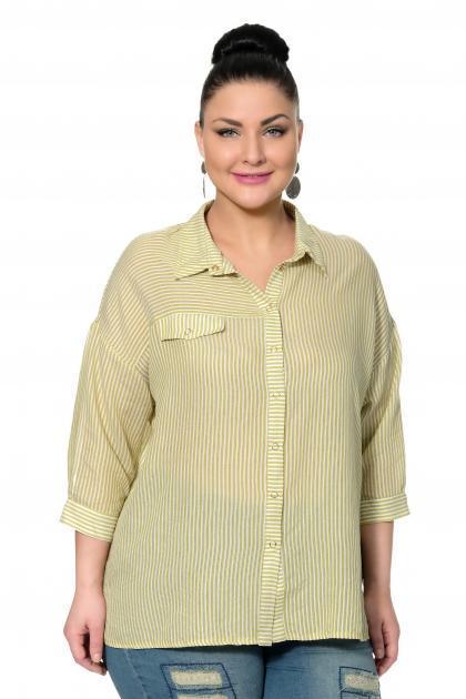 Артикул 334502 - блузка большого размера