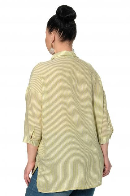 Артикул 334502 - блузка большого размера - вид сзади