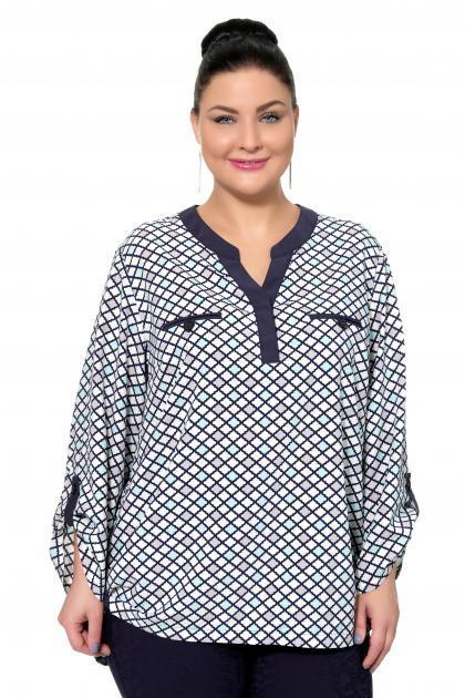 Артикул 17215 - блузка большого размера