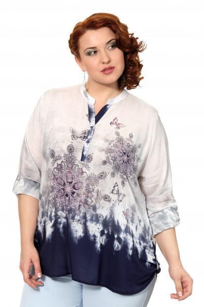 Артикул 306546 - блузка большого размера