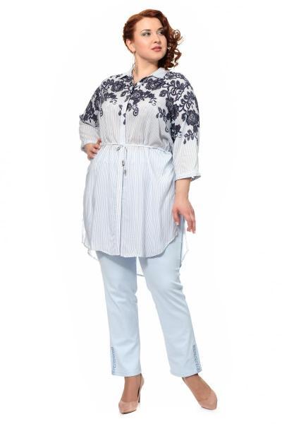 Артикул 306303 - блузка большого размера