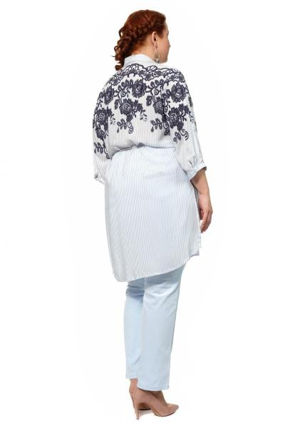 Артикул 306303 - блузка большого размера - вид сзади