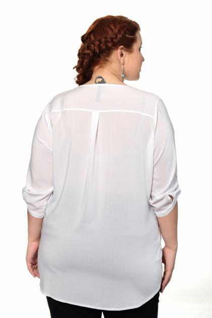Артикул 306553 - блузка большого размера - вид сзади