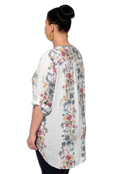 Артикул 307415 - блузка большого размера - вид сзади