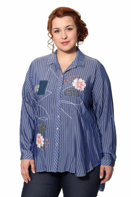 Артикул 306479 - блузка большого размера