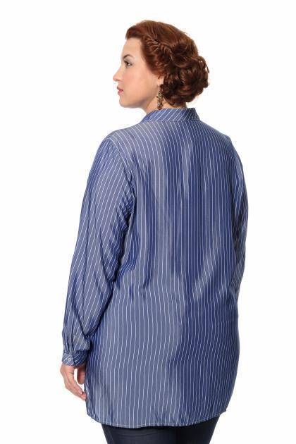 Артикул 306479 - блузка большого размера - вид сзади