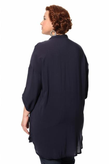 Артикул 306947 - блузка большого размера - вид сзади