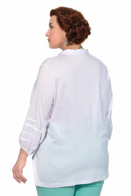 Артикул 306929 - блузка большого размера - вид сзади