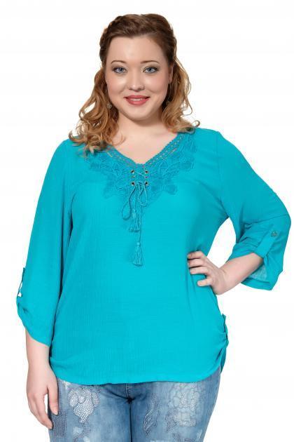 Артикул 306968 - блузка большого размера
