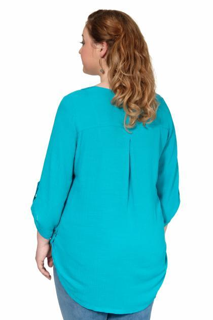 Артикул 306968 - блузка большого размера - вид сзади