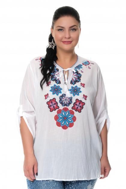 Артикул 307441 - блузка большого размера