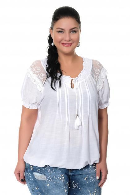 Артикул 306911-1 - блузка большого размера