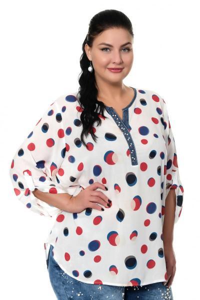 Артикул 306349 - блузка большого размера
