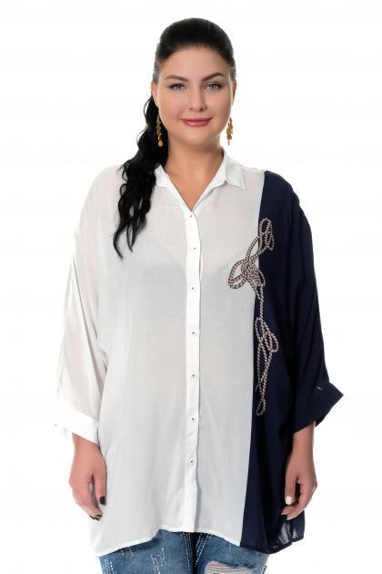 Артикул 306330 - блузка большого размера